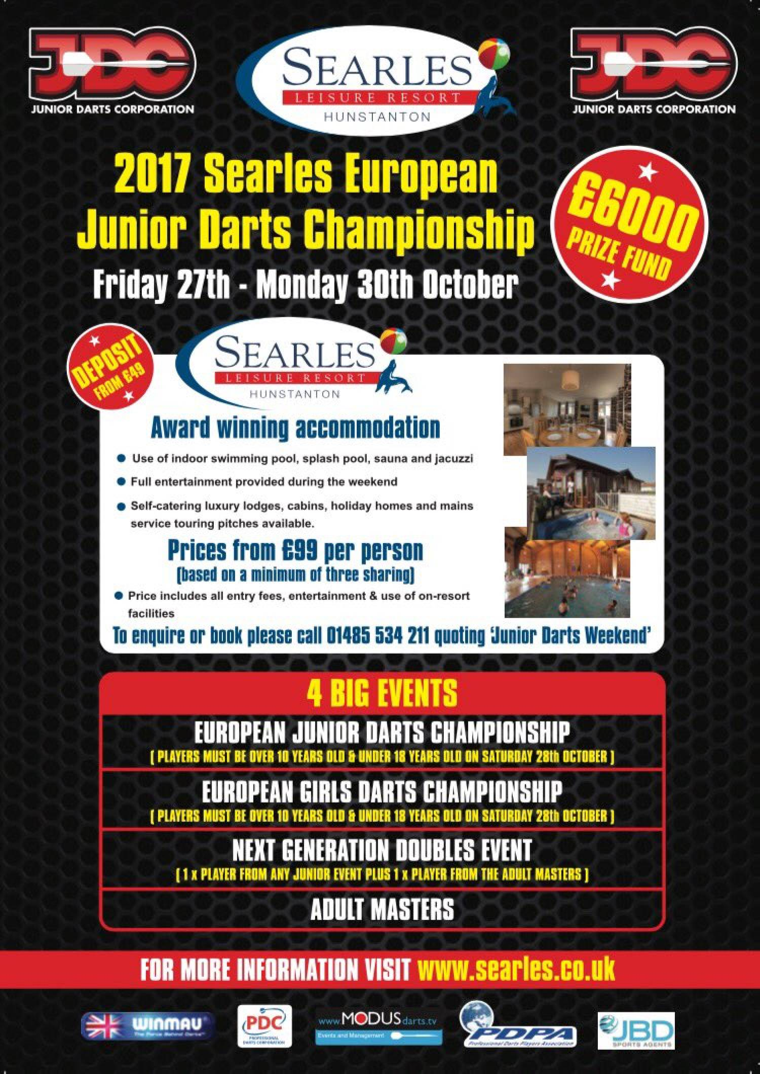 2017 Searles European Junior Darts Championship